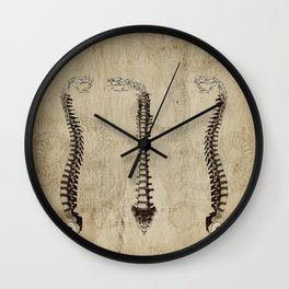 Love and Hate Wall Clock