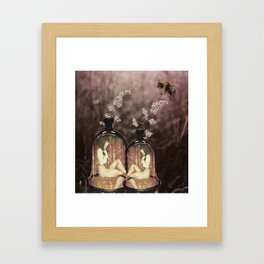 Liberated from The Shame Of Self-Conscience Framed Art Print