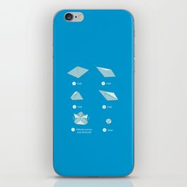 Step-by-step Origami iPhone Skin