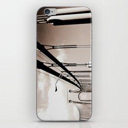New York City Through the Verrazano Bridge iPhone Skin