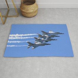 Thunderbirds Show Pass Rug