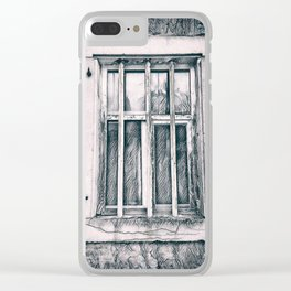In jail Clear iPhone Case