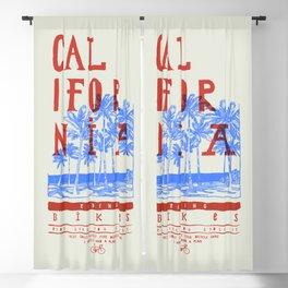 Califonia Bikes Blackout Curtain