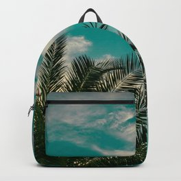 Palms on Turquoise - II Backpack
