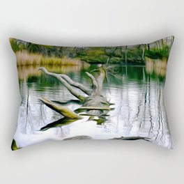 Autumn-Landscape Art Rectangular Pillow