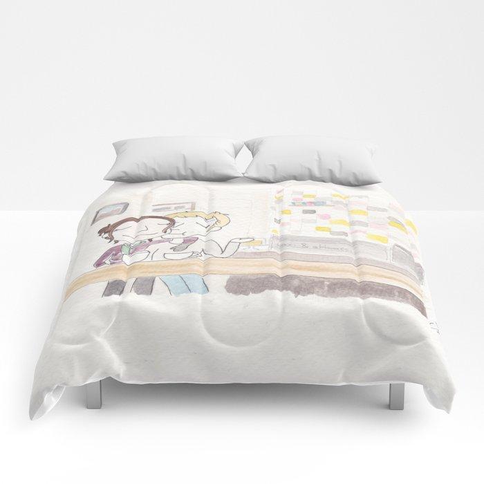 coffee date Comforters