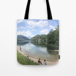 Lake in Hohenschwangau, Germany Tote Bag
