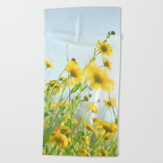 Lie Back and Think of England Beach Towel