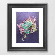 Colour Form & Expression #1 Framed Art Print