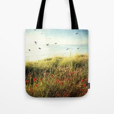 Seascape - One late, lazy, beautiful morning Tote Bag