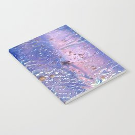 Raindrops on Glass Notebook