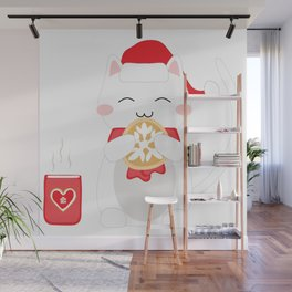 Happy Cat Wall Mural