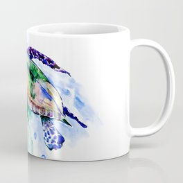 Swimming Sea Turtle Coffee Mug