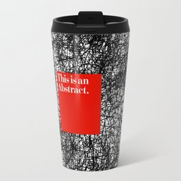 ABSTRACT CERTIFIED Travel Mug