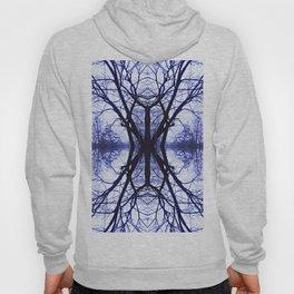 Abstract Purple Tree Mandala 620 Hoody