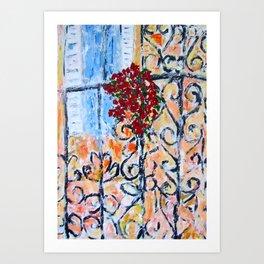 Terrace Art Print
