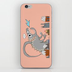 Big Monster iPhone & iPod Skin