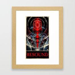 Resound (color)  Framed Art Print