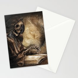 Skeleton Scribe Stationery Cards