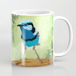 Bird - Superb Fairywren Coffee Mug