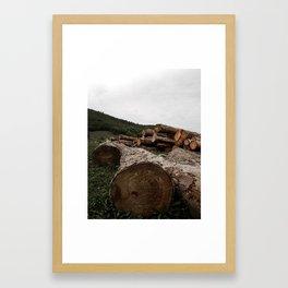 Dans els bois Framed Art Print
