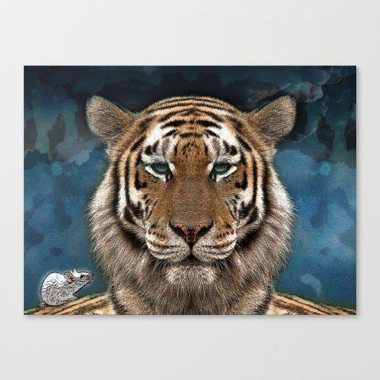Sumatra and tiny Canvas Print