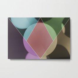 colour dimonds Metal Print