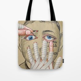 IMPRACTICAL CHARACTER Tote Bag