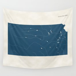 Kansas Parks - v2 Wall Tapestry