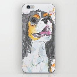 Cavalier King Charles Spaniel Art iPhone Skin