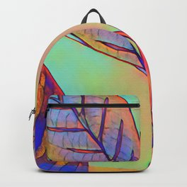 Leaves - a colour edit Backpack