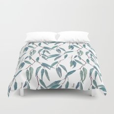 Eucalyptus leaves Duvet Cover