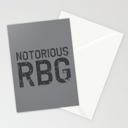 Notorious RBG R.B.G Stationery Cards
