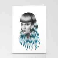 grimes Stationery Cards featuring Grimes by Nestor