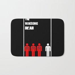 The Walking Dead Minimalist Bath Mat