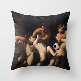 PutBall Throw Pillow