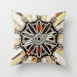 Shepard Abstract Throw Pillow