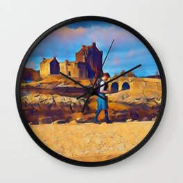 I Dream of Scotland Wall Clock