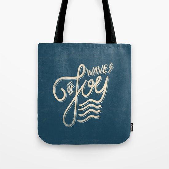 Waves of Joy Tote Bag
