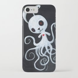 bunnnypus in the dark iPhone Case
