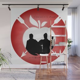 OUTLAW QUEEN (Red) Wall Mural