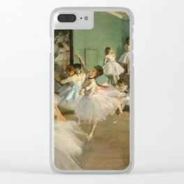Degas - The Dance Class, 1874 Clear iPhone Case
