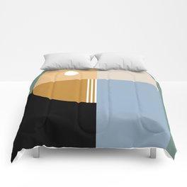 Contemporary 44 Comforters