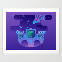 Cosmic Journey Art Print