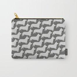 Corgi Silhouette(s) Carry-All Pouch