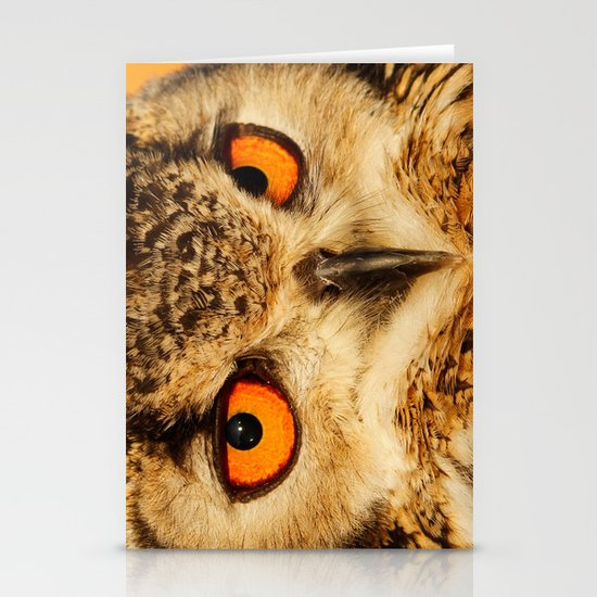 Bubo bubo Stationery Cards