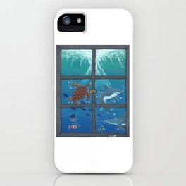 Window To The Sea iPhone Case