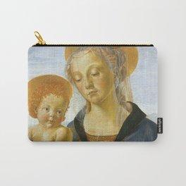 """Andrea del Verrocchio """"Madonna and Child"""" Carry-All Pouch"""
