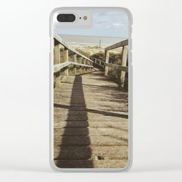 Pathway to the Beach Clear iPhone Case