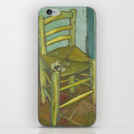Van Gogh's Chair iPhone Skin